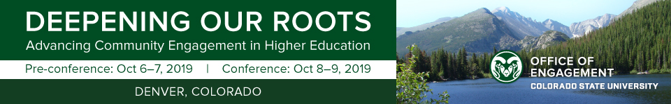 2019 Engagement Scholarship Consortium Conference Save the Date!