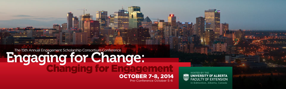 15th Annual Engagement Scholarship Conference banner