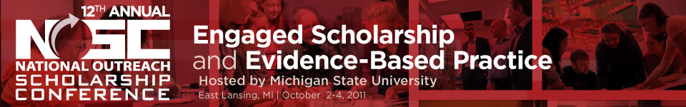 2011 National Outreach Scholarship Conference Banner